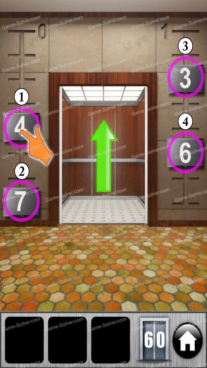 100 Doors Of Revenge Level 60 Game Solver
