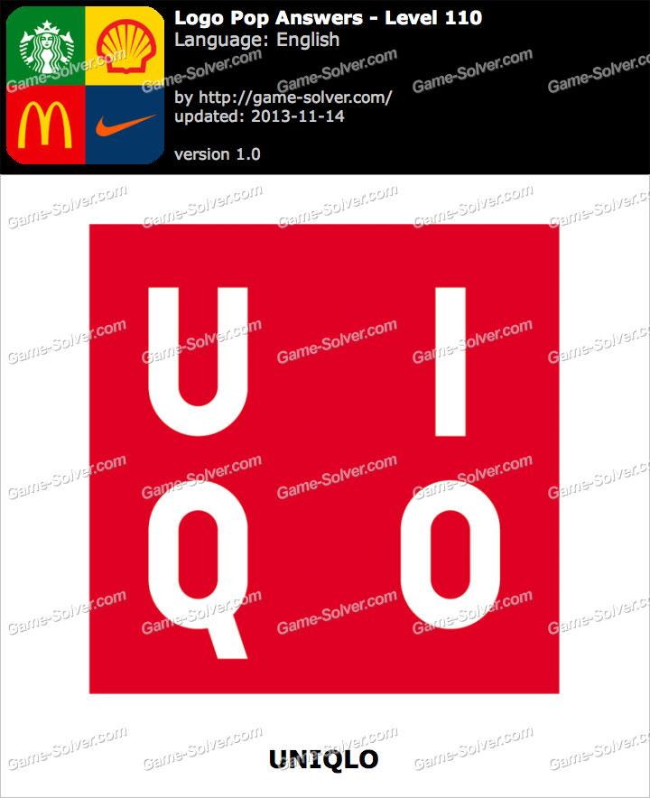 Logo Pop Level 110