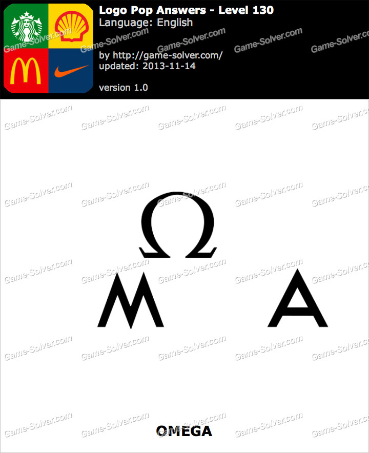 Logo Pop Level 130