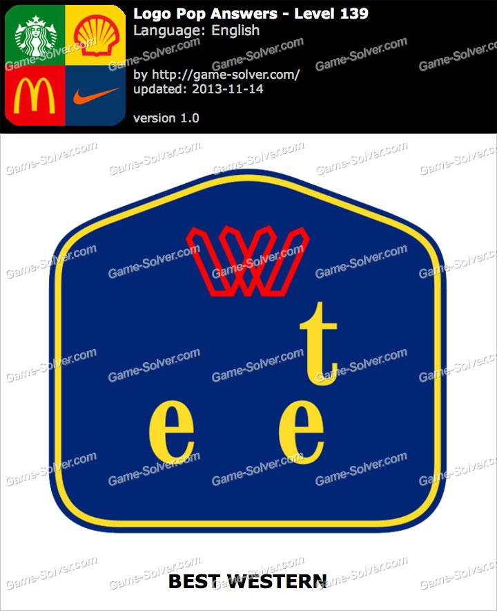 Logo Pop Level 139