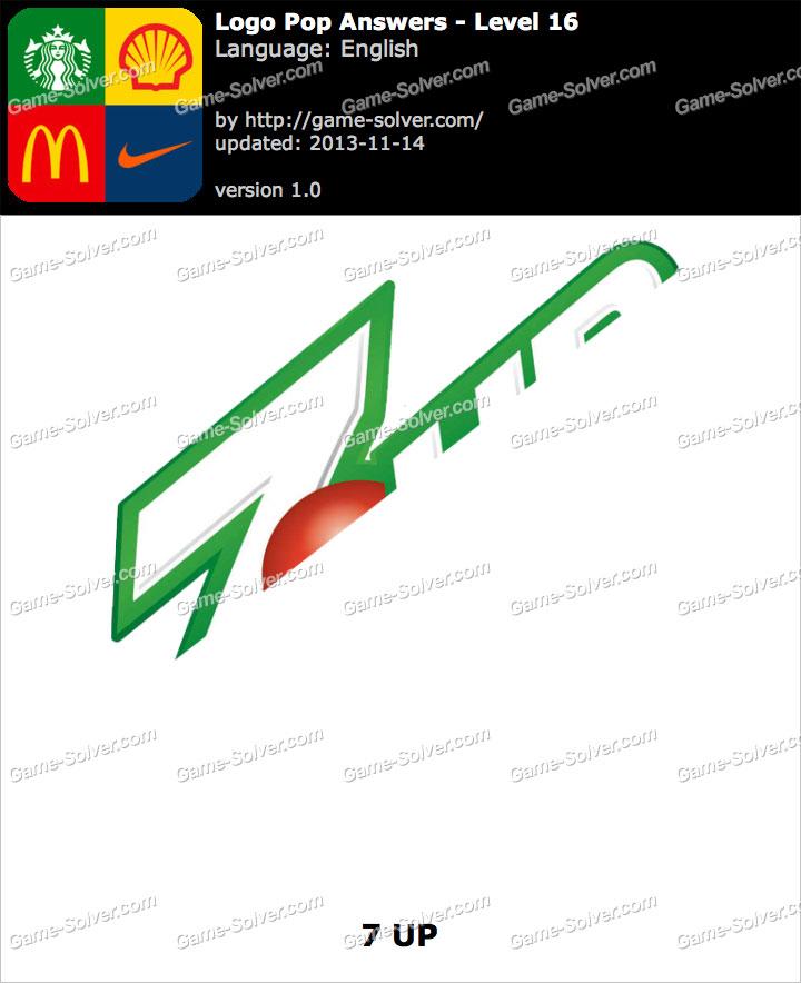 Logo Pop Level 16