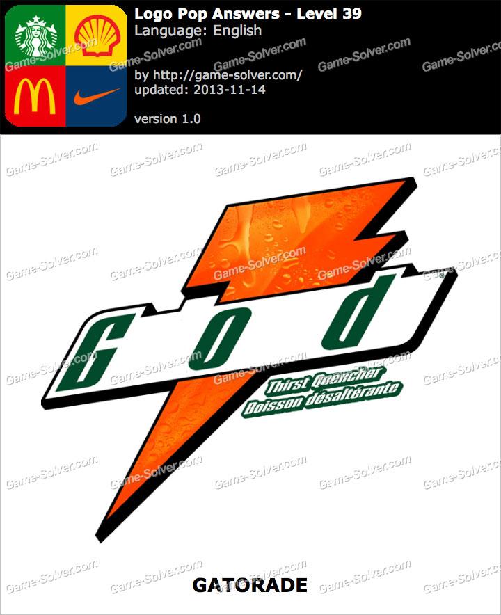 Logo Pop Level 39