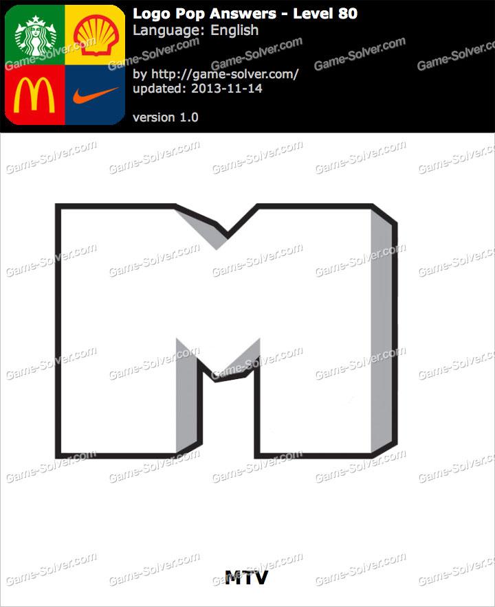 Logo Pop Level 80