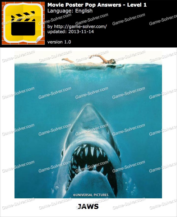 Movie Poster Pop Level 1