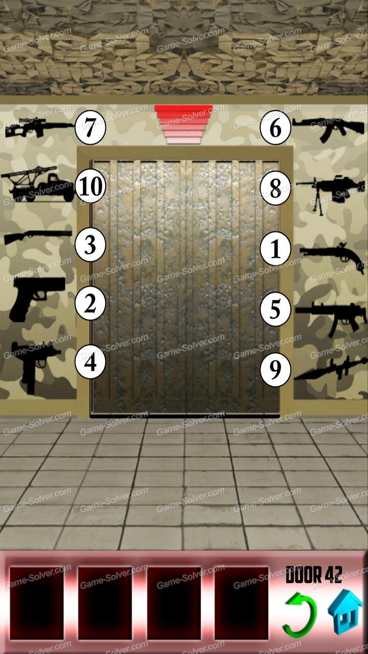 100 Doors X Level 41 Game Solver