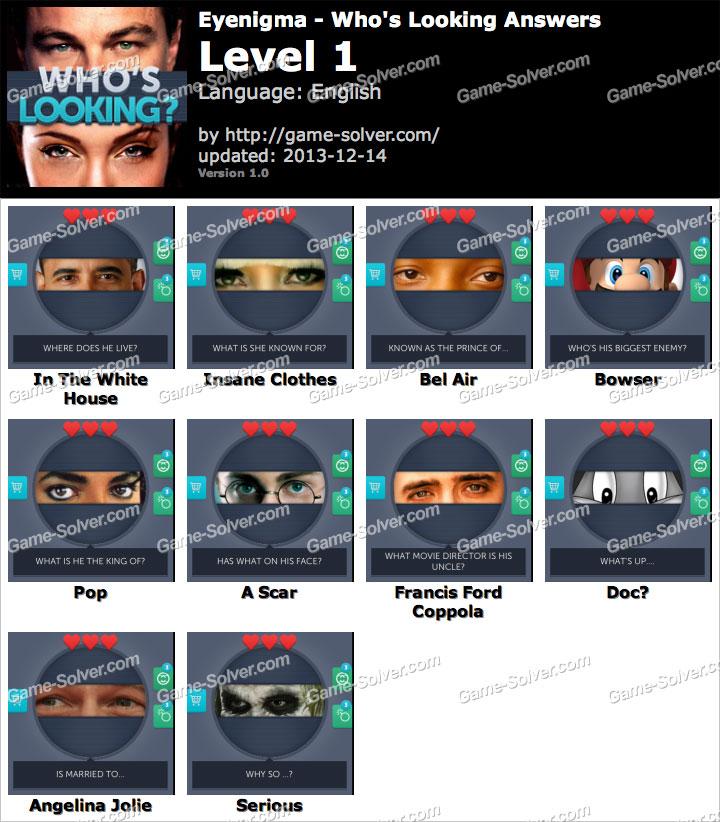 Eyenigma Level 1