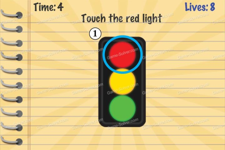 Impossible Test Touch The Red Light