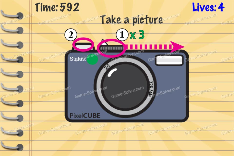 Impossible Test Take A Picture