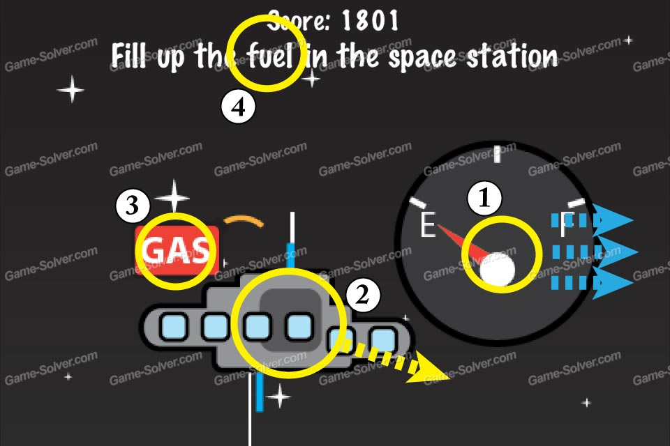 Impossible Test Space Fill up the fuel in the space station
