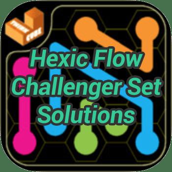 Hexic Flow Challenger Set Solutions