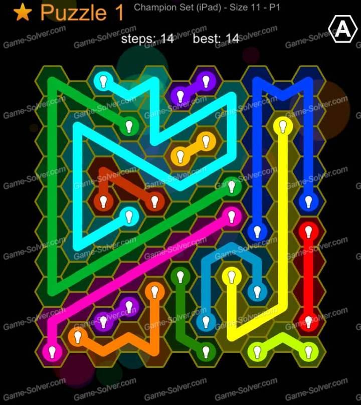 Hexic Flow Champion Set Ipad Size 11 P 1 Puzzle 1