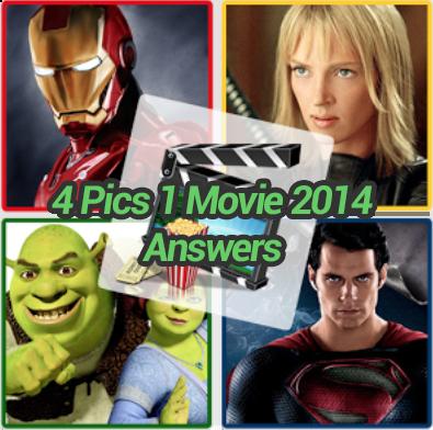4 Pics 1 Movie 2014 Answers