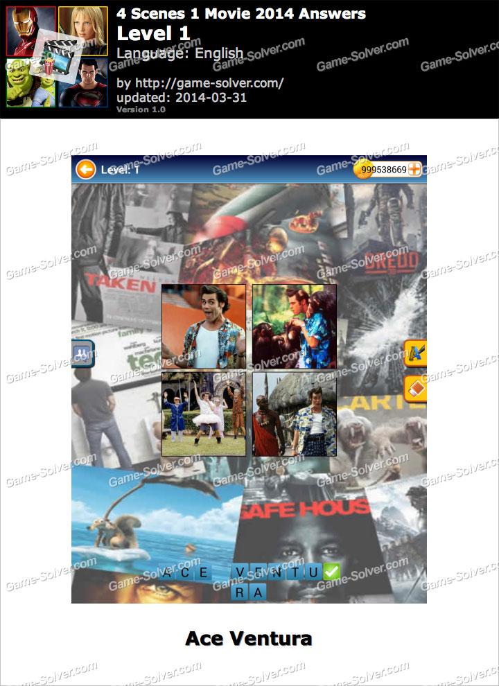 4 Scenes 1 Movie 2014 Level 1