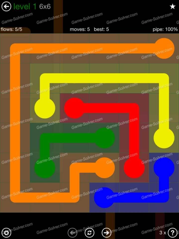 Flow 6x6 Mania Level 1