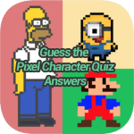 Guess The Pixel Character Quiz Answers
