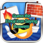 Guess the Emoji Icon Saying Answers