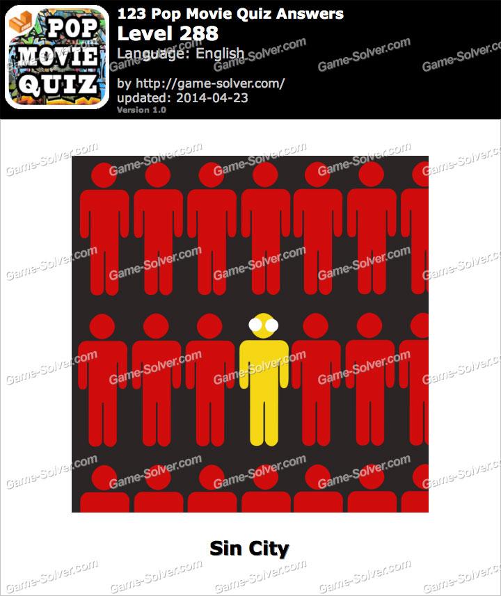 123 Pop Movie Quiz Level 288