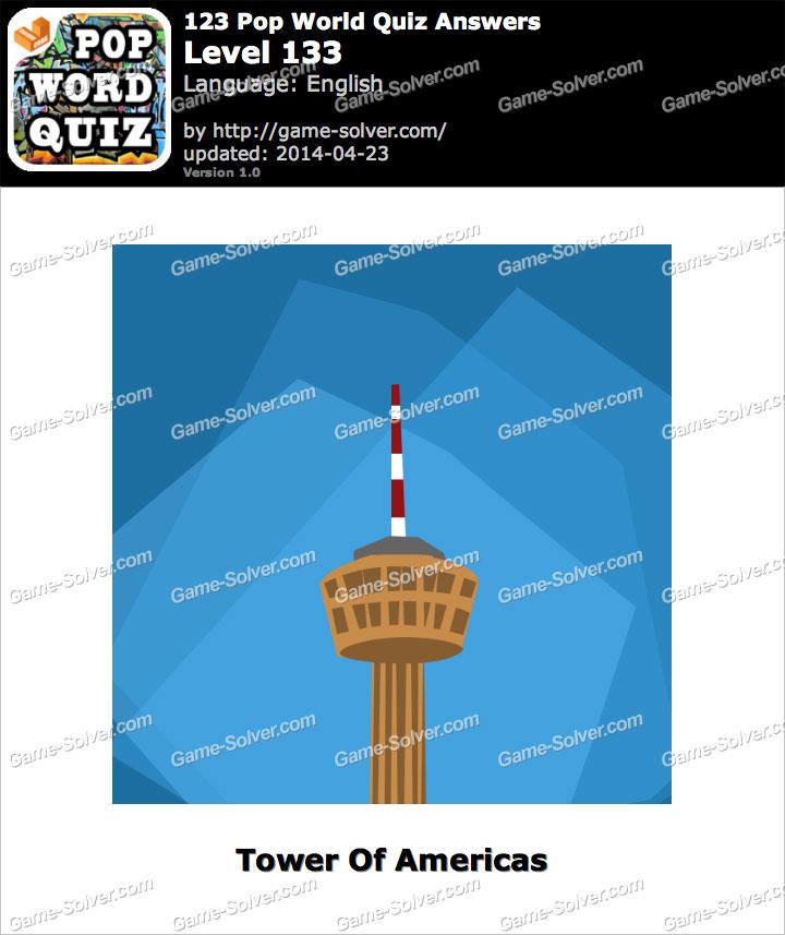 123 Pop World Quiz Level 133