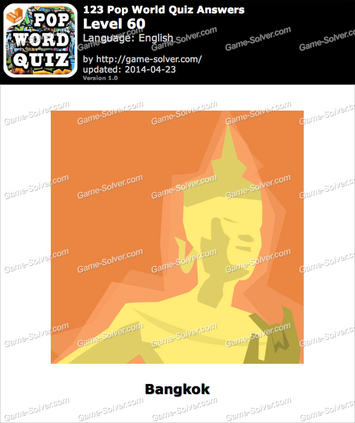 123 Pop World Quiz Level 60