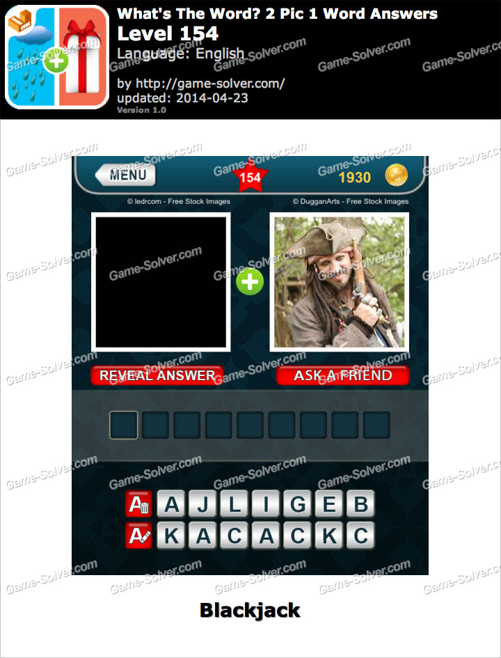 What's The Word 2 Pic 1 Word Level 154