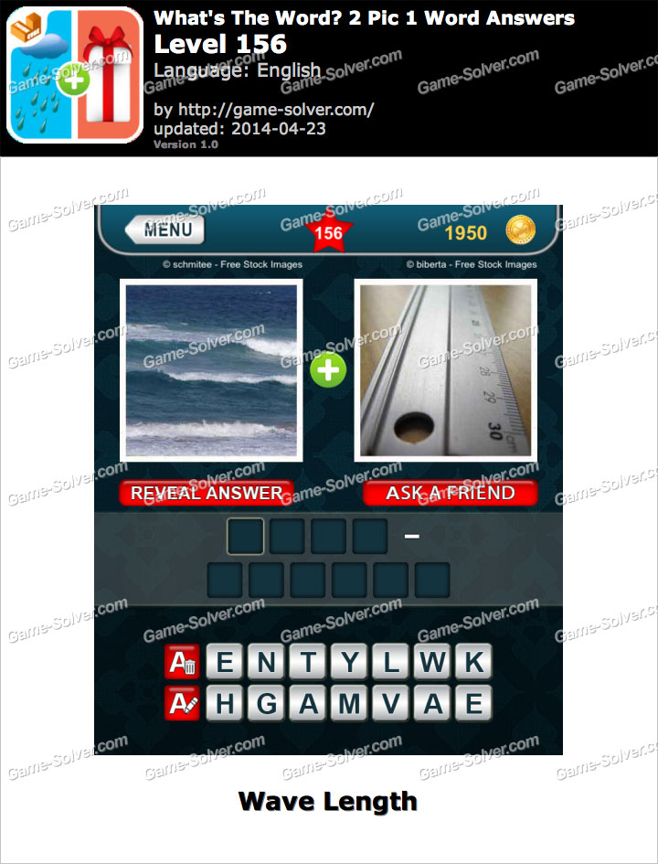 What's The Word 2 Pic 1 Word Level 156