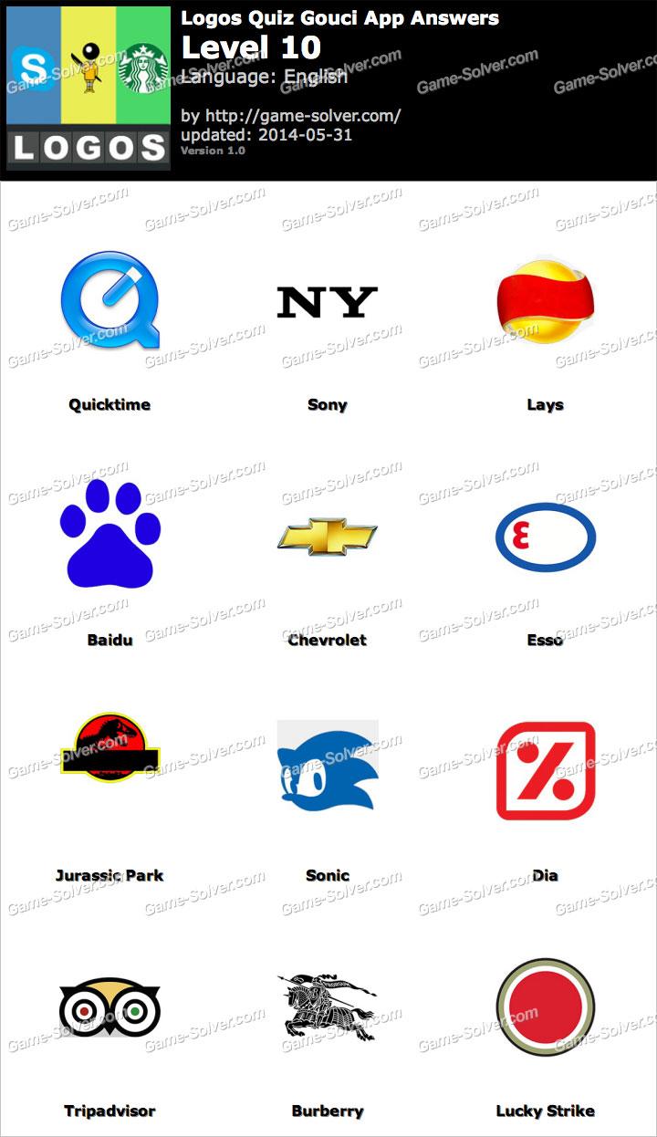 Logos Quiz Gouci App Level 10