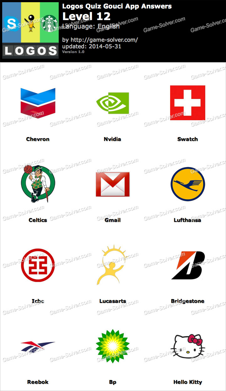 Logos Quiz Gouci App Level 12