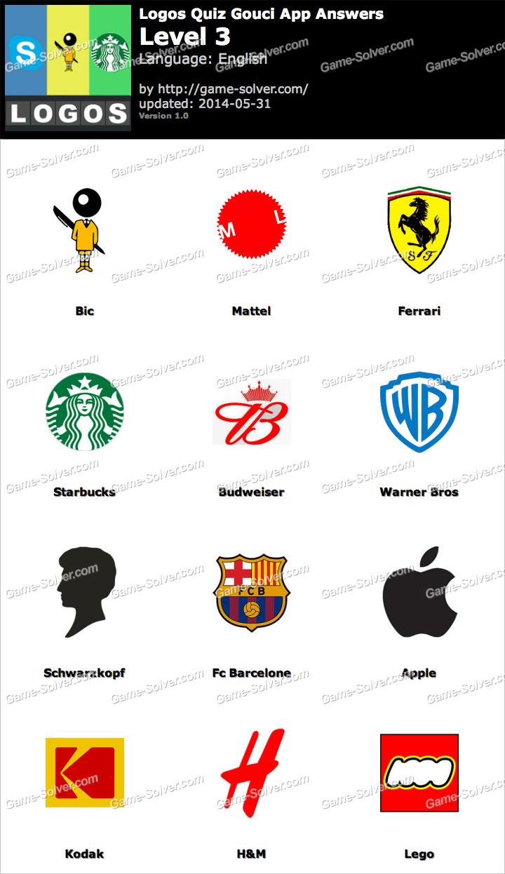 Logos Quiz Gouci App Level 3