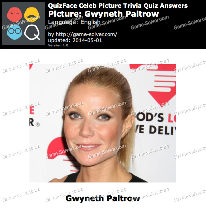 QuizFace Level Gwyneth Paltrow