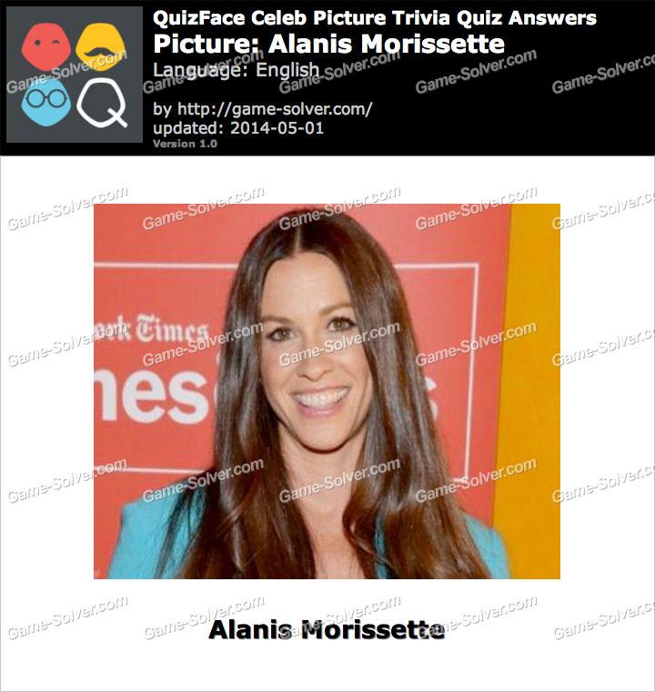 QuizFace Level Alanis Morissette
