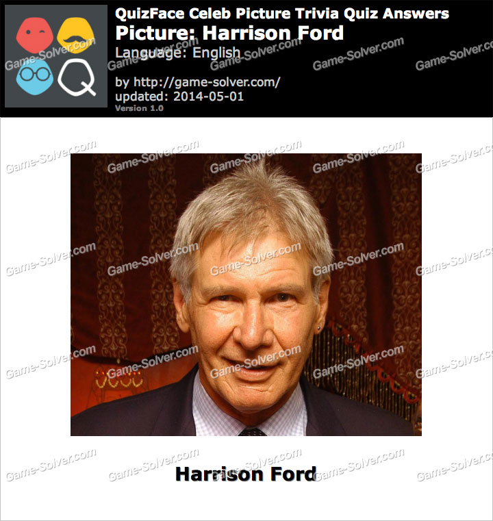 QuizFace Level Harrison Ford