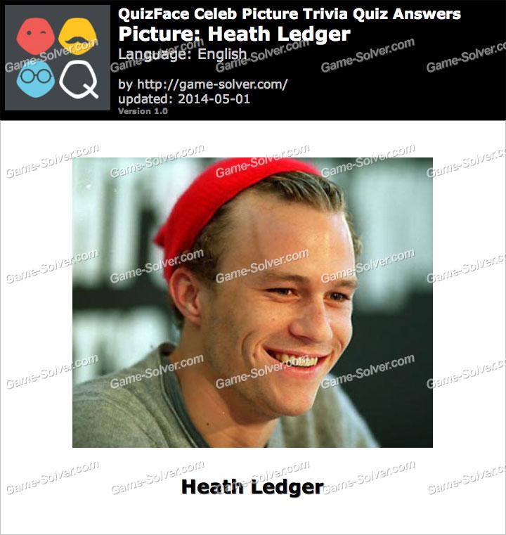 QuizFace Level Heath Ledger