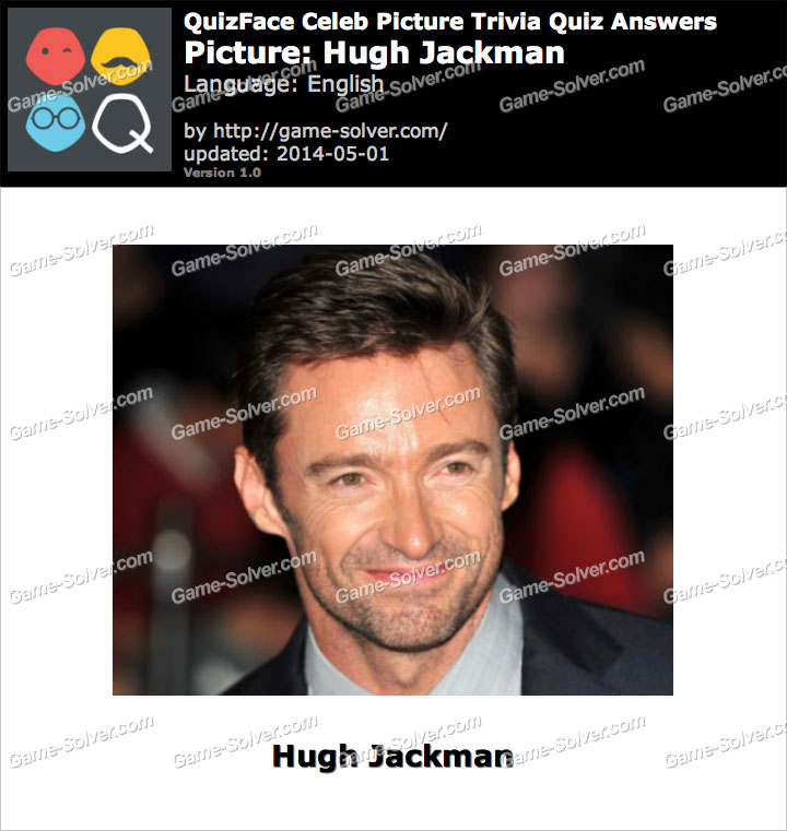 QuizFace Level Hugh Jackman