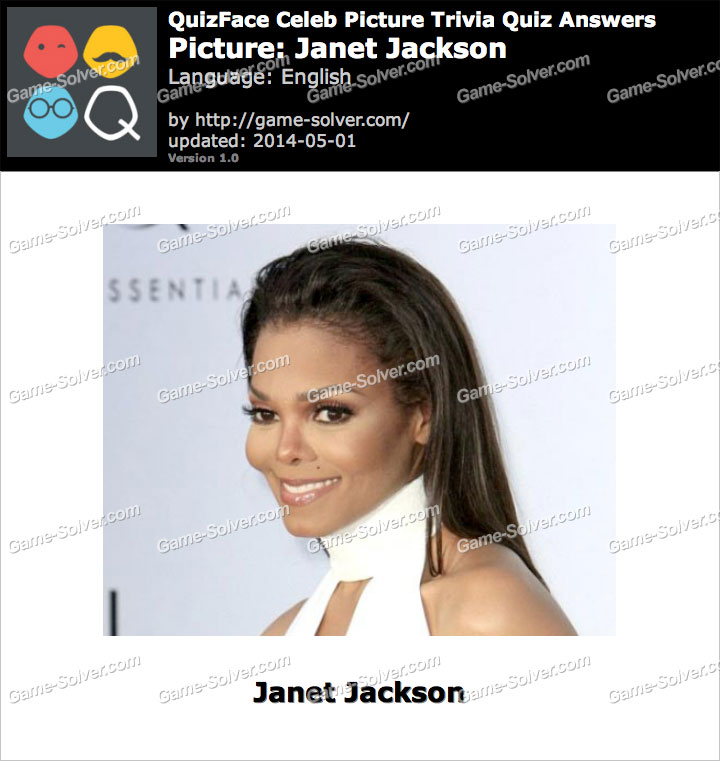 QuizFace Level Janet Jackson