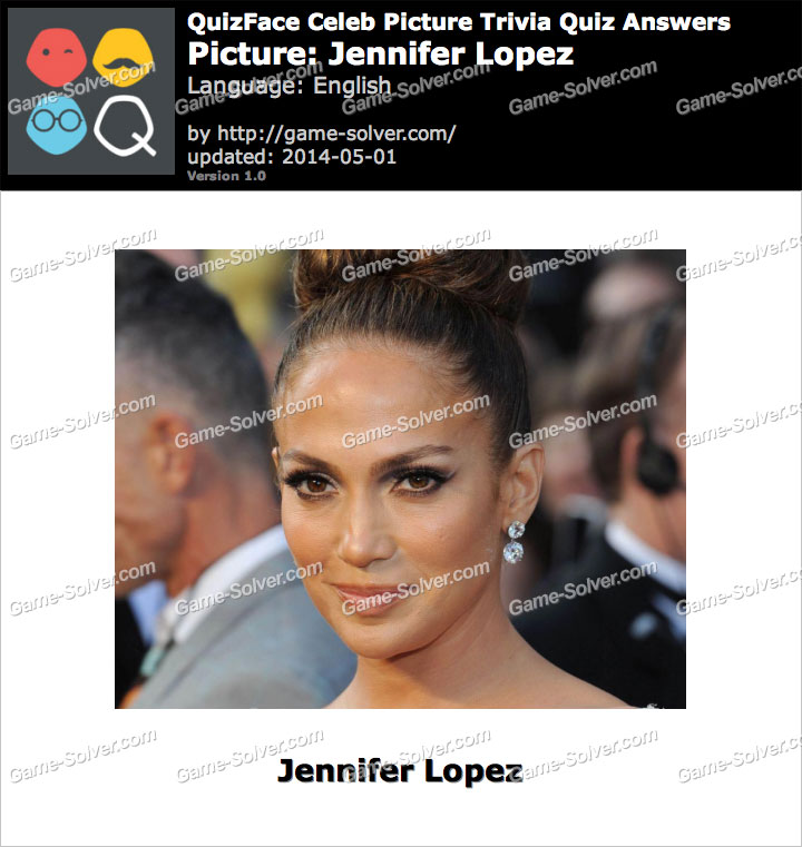 QuizFace Level Jennifer Lopez