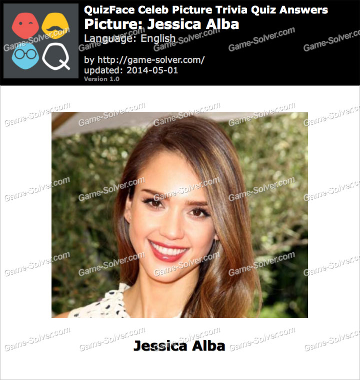 QuizFace Level Jessica Alba