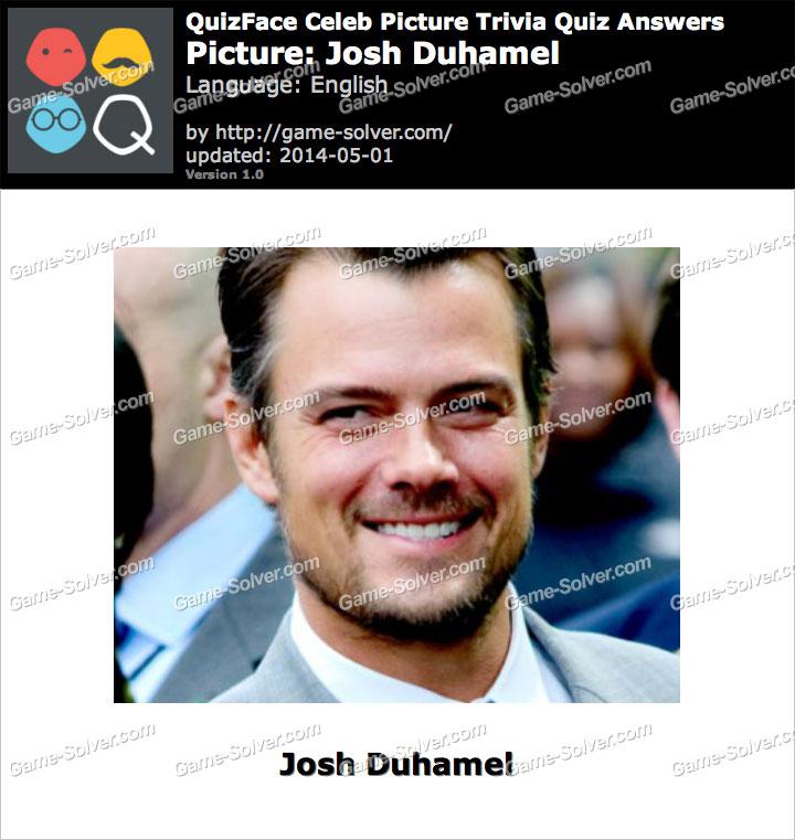 QuizFace Level Josh Duhamel