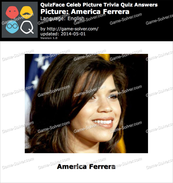QuizFace Level America Ferrera