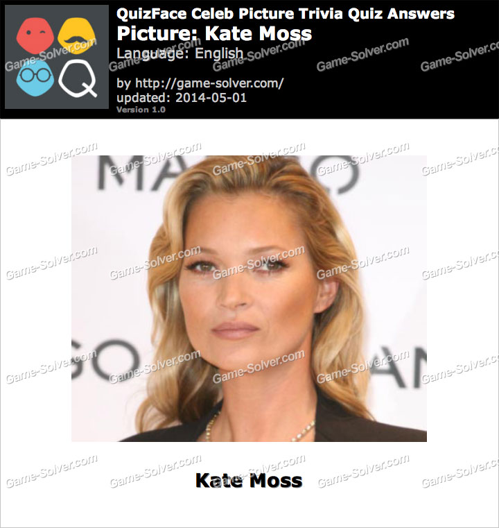 QuizFace Level Kate Moss