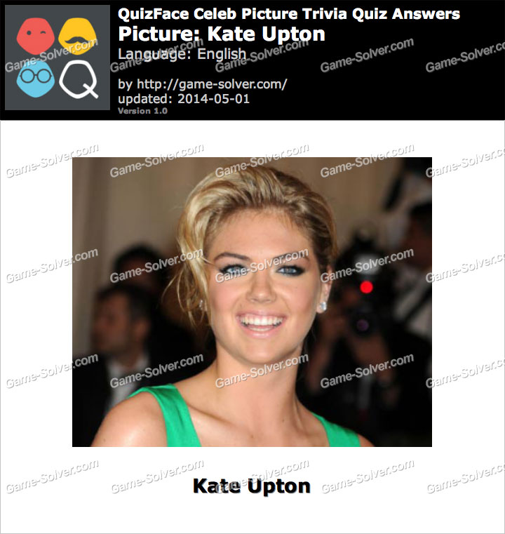 QuizFace Level Kate Upton