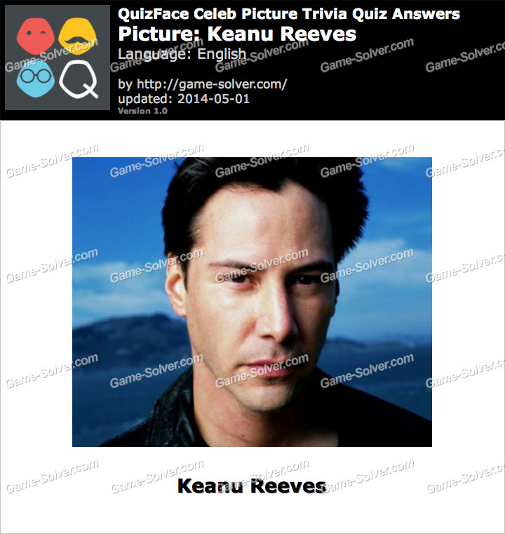 QuizFace Level Keanu Reeves