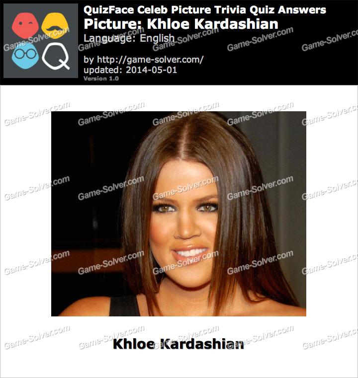 QuizFace Level Khloe Kardashian