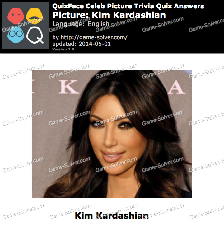 QuizFace Level Kim Kardashian