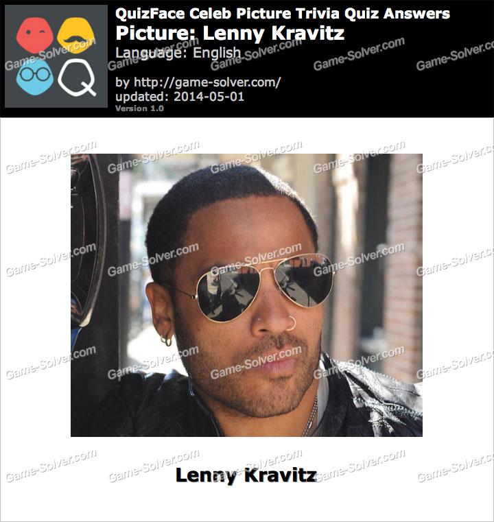 QuizFace Level Lenny Kravitz