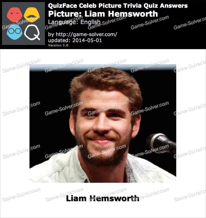 QuizFace Level Liam Hemsworth
