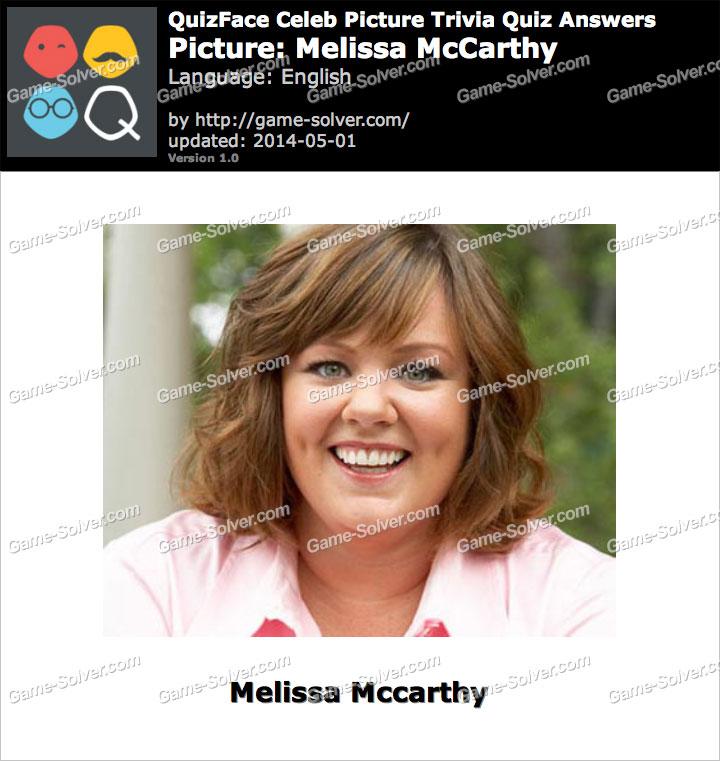 QuizFace Level Melissa McCarthy