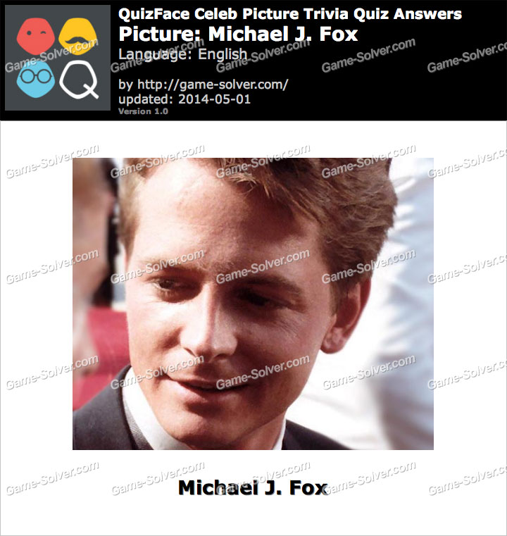 QuizFace Level Michael J. Fox