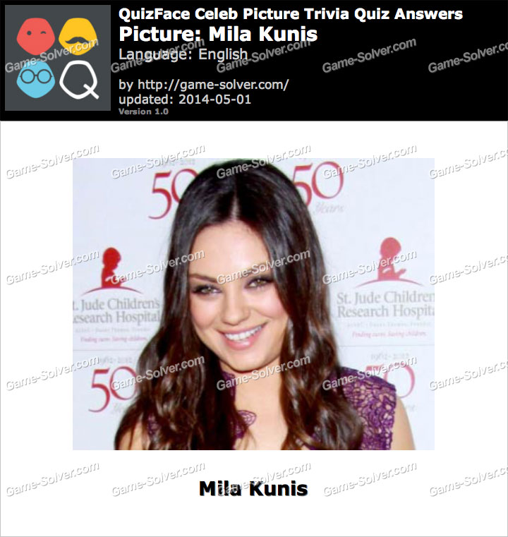 QuizFace Level Mila Kunis