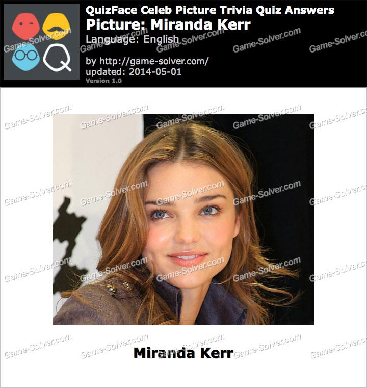 QuizFace Level Miranda Kerr