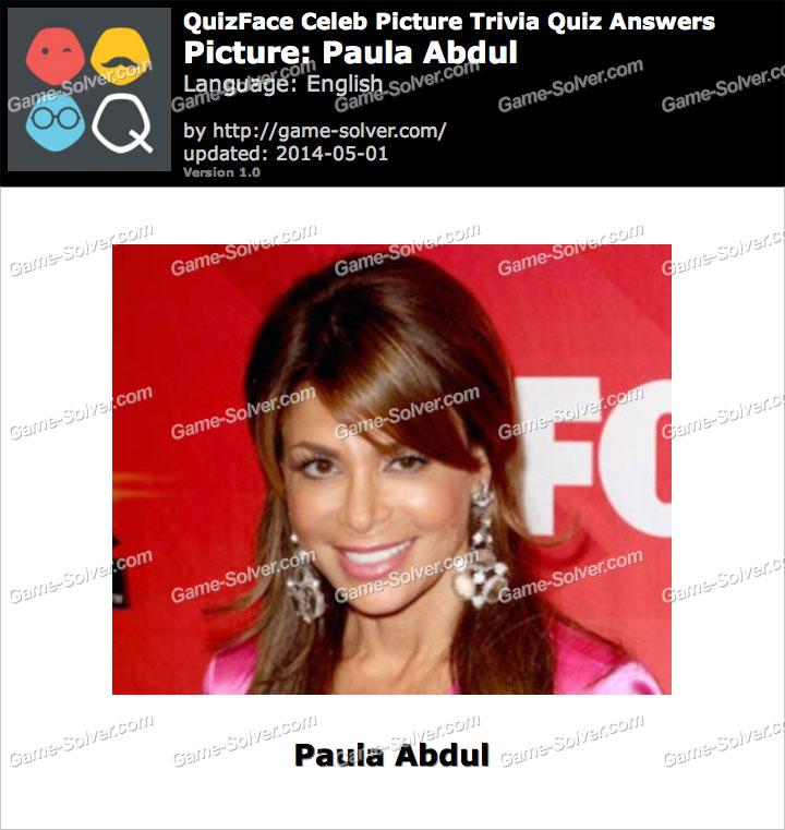 QuizFace Level Paula Abdul